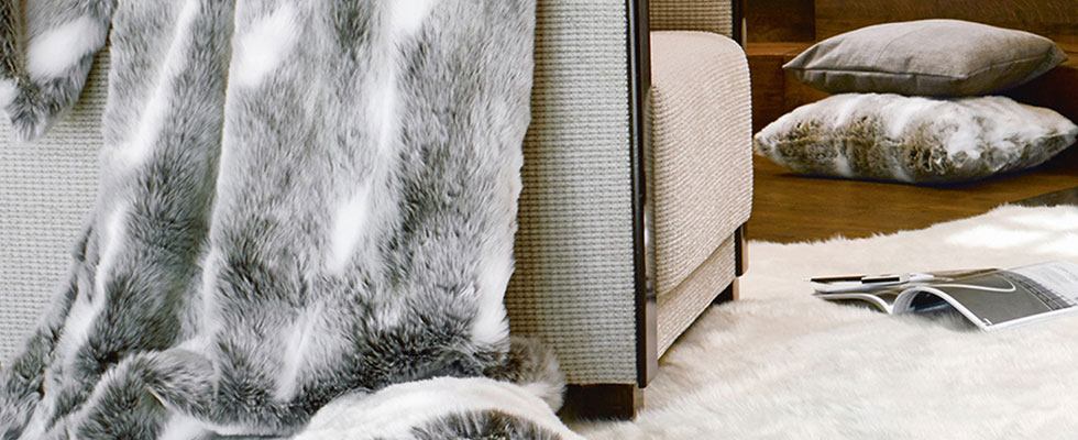 Bancroft Winter Home Faux Fur Collection